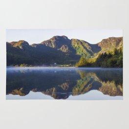 Misty Dawn Lake Rug