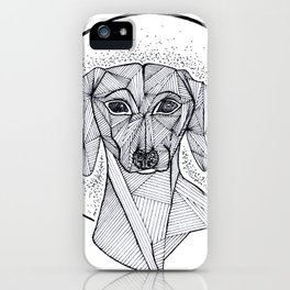 Jarvis the Dachshund iPhone Case