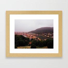 Heidelberg, Germany. Framed Art Print