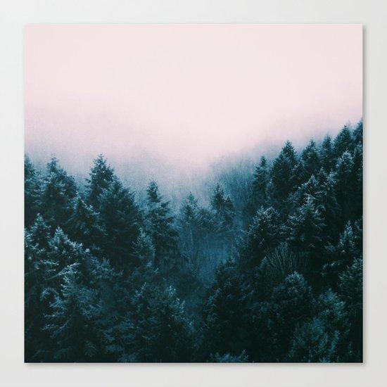Pastel woods Canvas Print