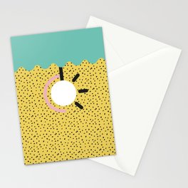 Memphis Style N°3 Stationery Cards