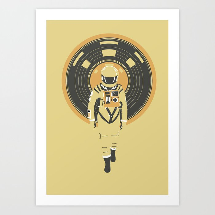 Discover the motif DJ HAL 9000 by Robert Farkas as a print at TOPPOSTER