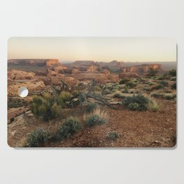 Monument Valley Morning Cutting Board
