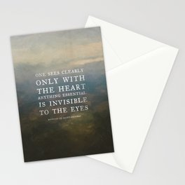 II. Anything essential is invisible to the eyes. Stationery Cards