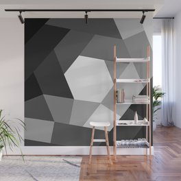 Black and white KOLOR Wall Mural