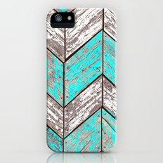 SHORELINE CHEVRONS (1 of 3) iPhone (5, 5s) Slim Case