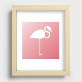 The Flamingo Recessed Framed Print
