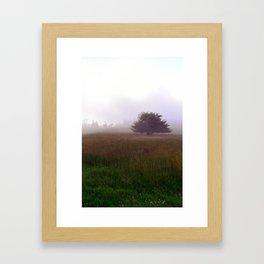 Beech Mountain Framed Art Print