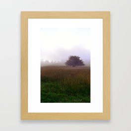 Beech Mountain Framed Art Print
