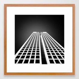 Ice Cubes Framed Art Print