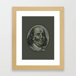 BENJAMIN FREAKLIN Framed Art Print