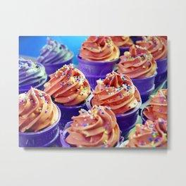 Cupcakes 4. Metal Print