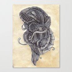 Lifeform 2S9-378 Canvas Print
