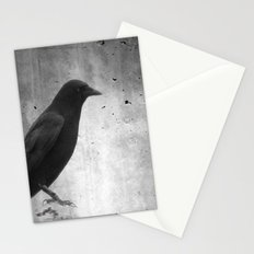 Gray Night Stationery Cards