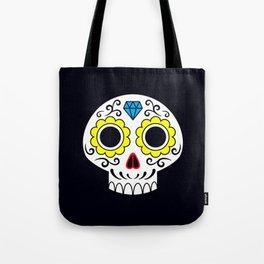 Sugar skull for a cake Tote Bag