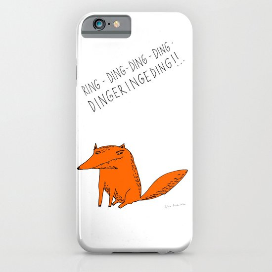What does the fox say??? iPhone & iPod Case