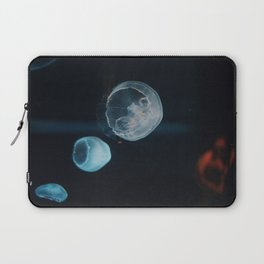 Jellyfish Cells (Color) Laptop Sleeve