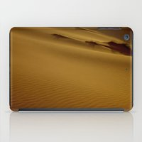 greg guillemin iPad Cases featuring Greg Katz Sahara Desert  by Artlala for MSF Doctors Without Borders