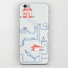 All Roads Lead to Your House iPhone & iPod Skin