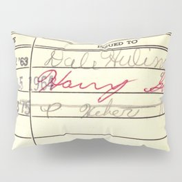 LibraryCard 510 Math Without Numbers Pillow Sham