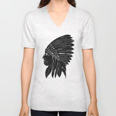 Chief / Black Edition Unisex V-Neck