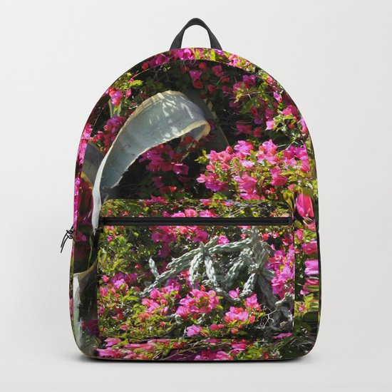 Spring Wild Flowers | Greece #society6 Backpack