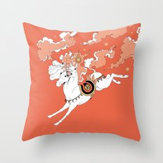 Uchchaihshravas Throw Pillow