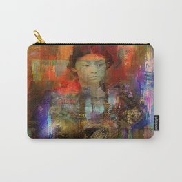 Woman samurai Carry-All Pouch