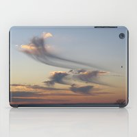 ships iPad Cases featuring cloud ships by bstudio