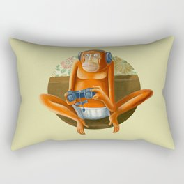 Monkey play Rectangular Pillow