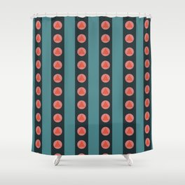 Patterned Stripes Shower Curtain
