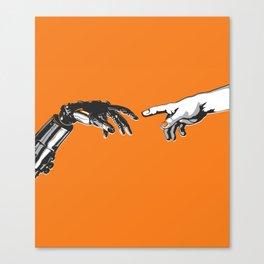Creation 2.0 Classic Art Reimagined AI Sci Fi Print Canvas Print