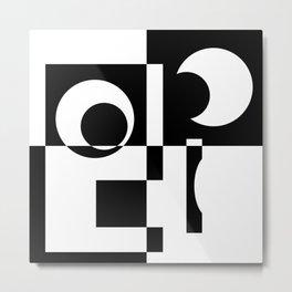 Abstract Figure 02 Metal Print