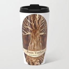 Basin Tmber logo Travel Mug