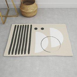 Abstract Modern Art Rug