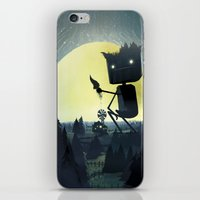 giants iPhone & iPod Skins featuring Hill Giants by GlennPorterArt