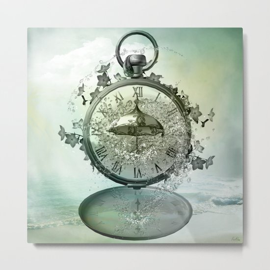 Timeless Flow Metal Print