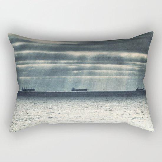 Morning Race Rectangular Pillow