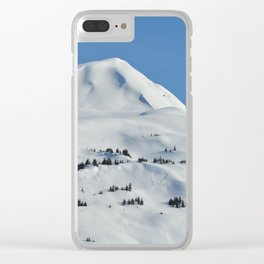 Back-Country Skiing  - VI Clear iPhone Case
