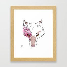 Scarred Framed Art Print