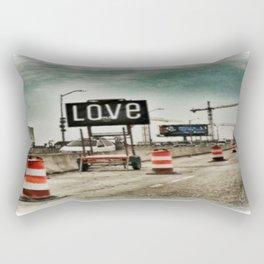 Road Construction Love  Rectangular Pillow