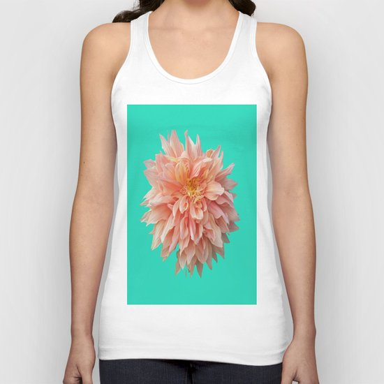 Flower Petals Unisex Tank Top