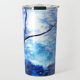 Winter Snow Storm Travel Mug