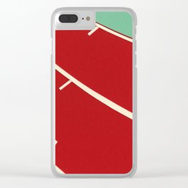 Running Track Clear iPhone Case