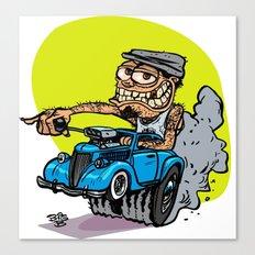 Drivers Cap HotRod Canvas Print