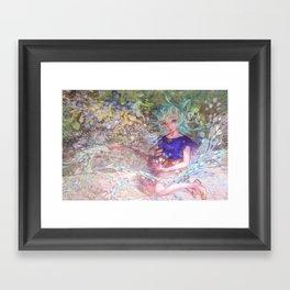 Heart Level Up: Color Your World Framed Art Print