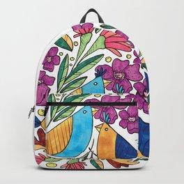 Birds & flore Backpack