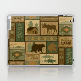 Big Bear Lodge Laptop & iPad Skin