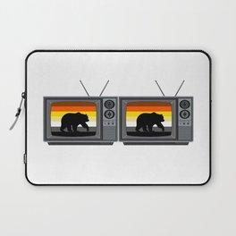 Gay Bear TV for Pride Season Laptop Sleeve