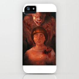 Pennywise and Will iPhone Case